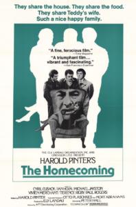 Harold Pinter's The Homecoming Film Poster