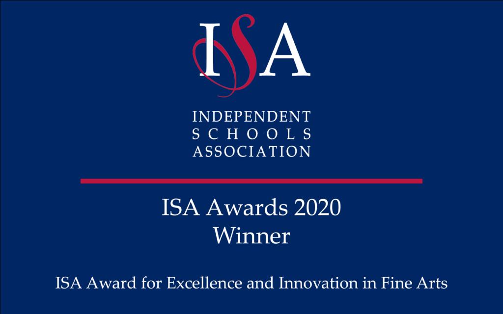 ISA Awards 2020 Winner Logo