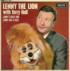 Lenny the Lion Record Sleeve