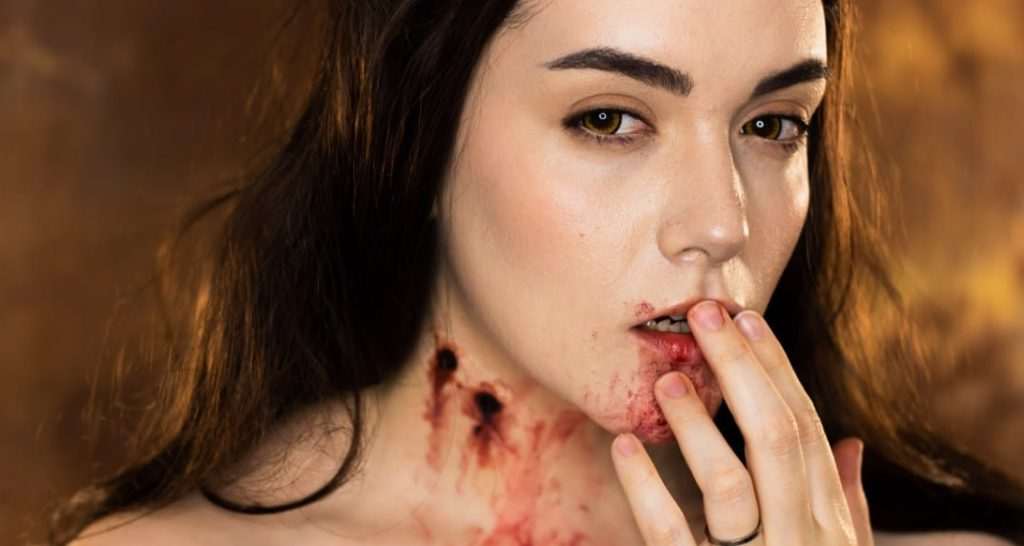 Mina Vampire's Baptism of Blood