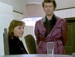 Ruth (Vivien Merchant) and Lenny (Ian Holm) The Homecoming