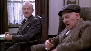 Sam (Cyril Cusack) and Max (Paul Rogers) in The Homecoming