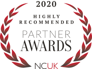 NCUK Partner Awards Highly Recommended Badge